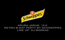 Schweppes Retro B-Day Party