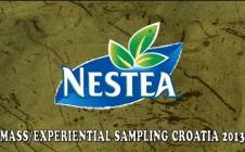Zagreb – Nestea Mass/Experiential Sampling