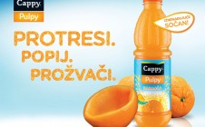 Cappy Pulpy Orange Sampling 2013. Dalmacija