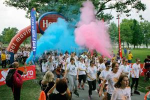 Merkur osiguranje – Holi Run&Fest Zagreb
