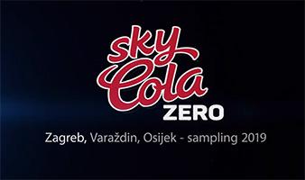 Sky Cola Zero sampling